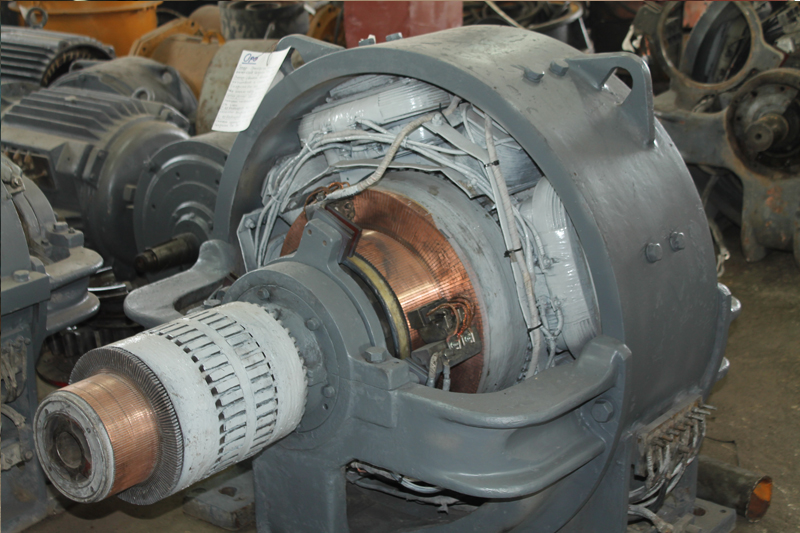 Постояннотокови електрически двигатели